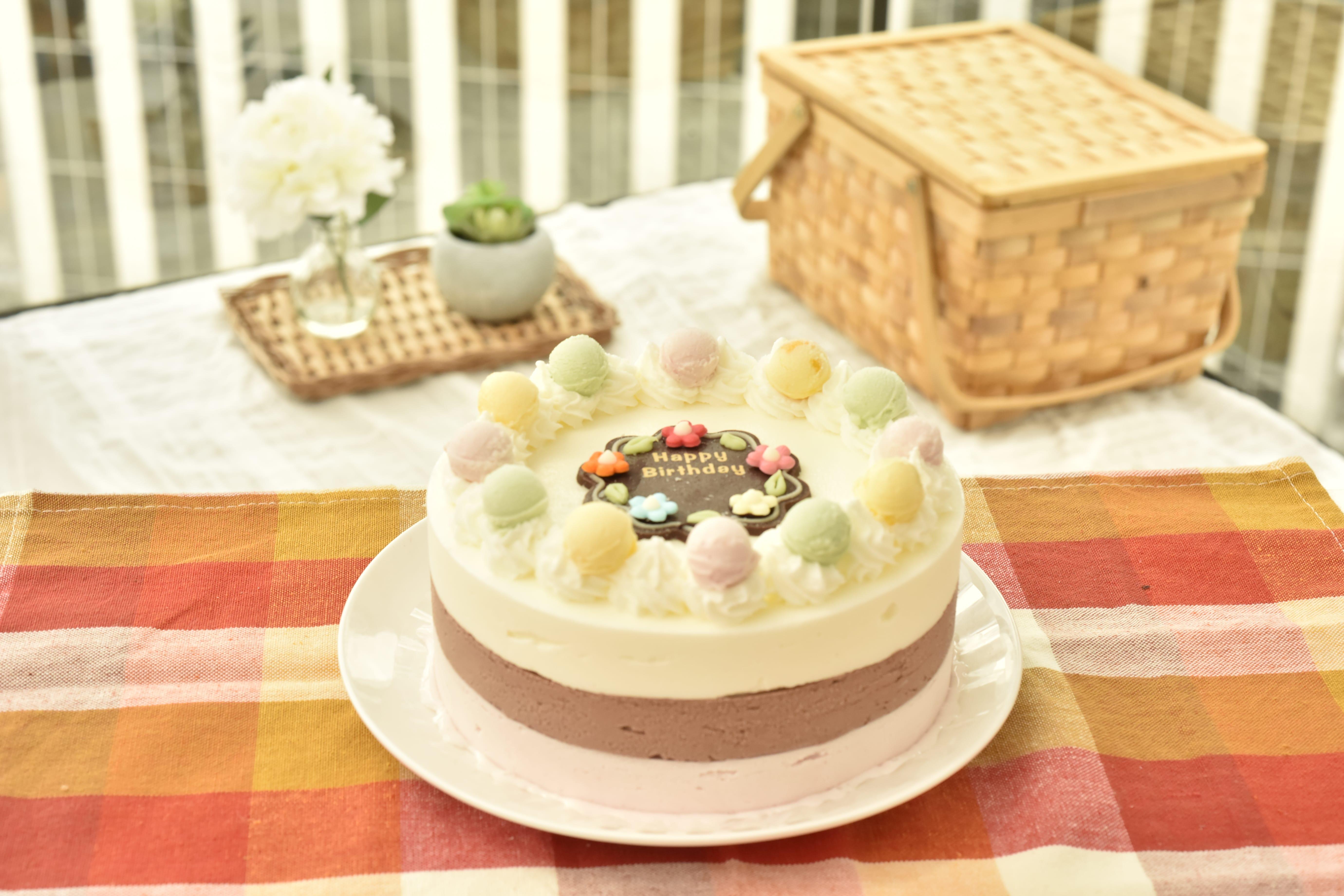 ジェラート お誕生日ケーキ スタンダード18cmの画像2枚目