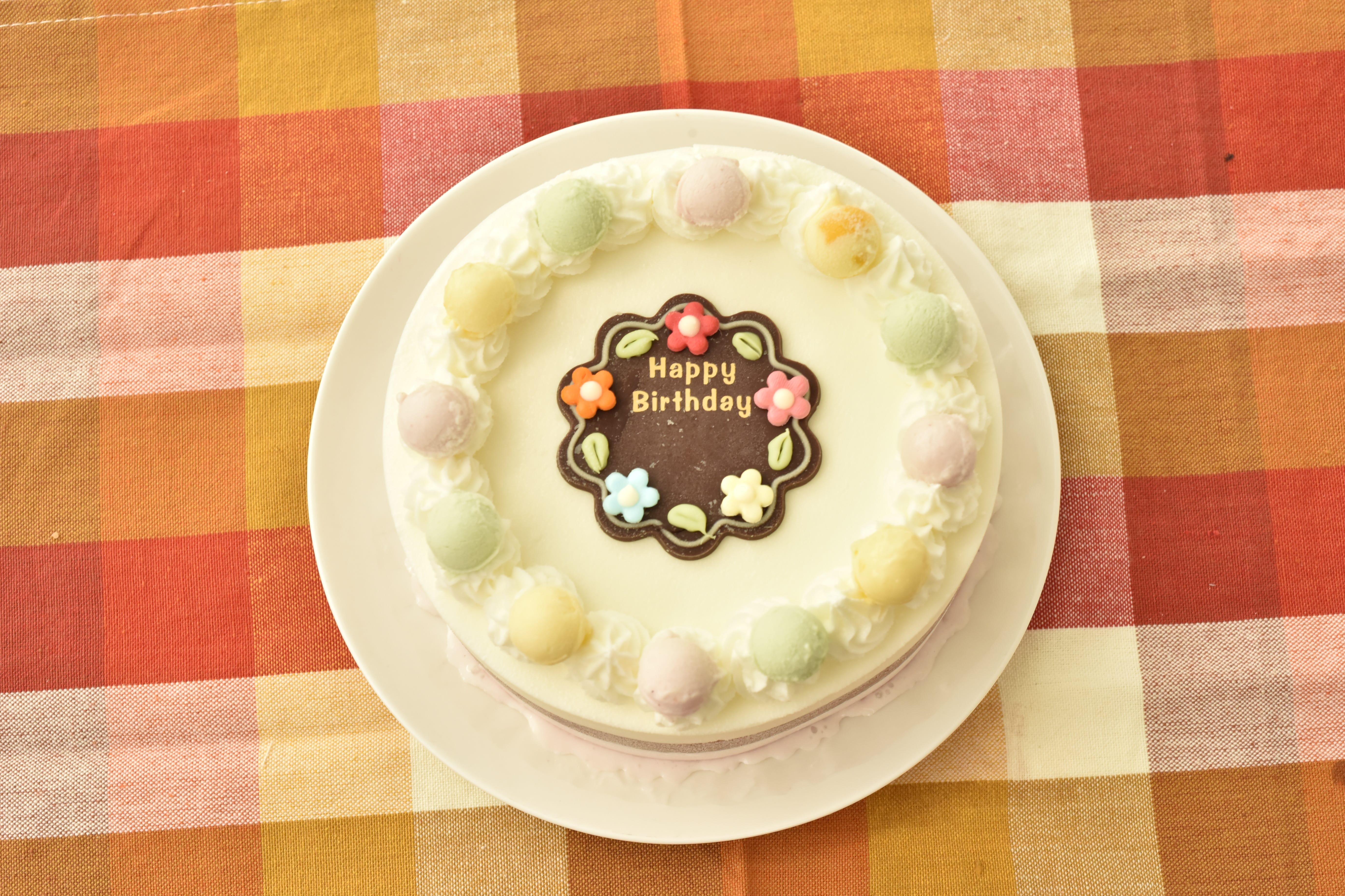 ジェラート お誕生日ケーキ スタンダード18cm