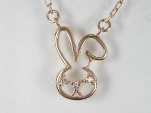 K10PG ピンクゴールド ダイヤモンド ペンダント ネックレス【10P12Jul14】::3324【バッグ・小物・ブランド雑貨】記念日向けギフトの通販サイト「バースデープレス」