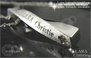 ララクリスティー LARA Christie ラブトルネード ネックレス [ WHITE Label ホワイトレーベル] 【送料無料】【即納】【プレゼントに最適♪】【10P12Jul14】::3324【バッグ・小物・ブランド雑貨】記念日向けギフトの通販サイト「バースデープレス」