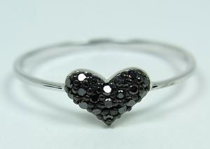 K10WGブラックダイヤモンドリング 0.1CT【10P12Jul14】::3324【バッグ・小物・ブランド雑貨】記念日向けギフトの通販サイト「バースデープレス」