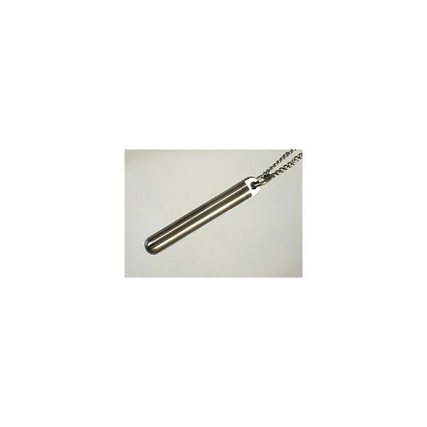 チタン製筒型ロケットペンダント【Aタイプ】6×40mm(日本製:チタン)::3331【バッグ・小物・ブランド雑貨】記念日向けギフトの通販サイト「バースデープレス」