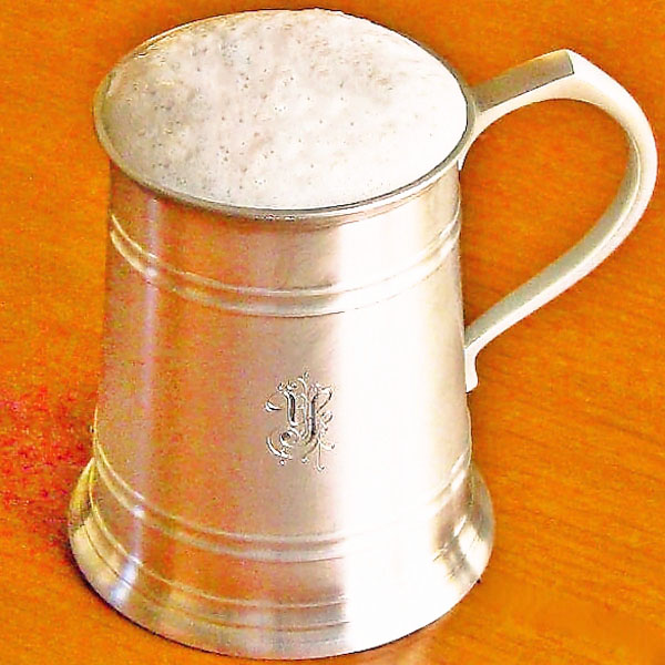 【名入れ】錫 ビール ジョッキ ロイヤルセランゴール グラス 450ml【結婚祝い】::3334【バッグ・小物・ブランド雑貨】記念日向けギフトの通販サイト「バースデープレス」