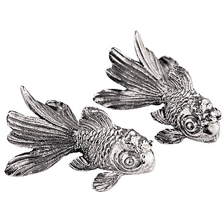 金魚 箸(はし)置きペア【結婚祝い】【贈り物】::3334【バッグ・小物・ブランド雑貨】記念日向けギフトの通販サイト「バースデープレス」