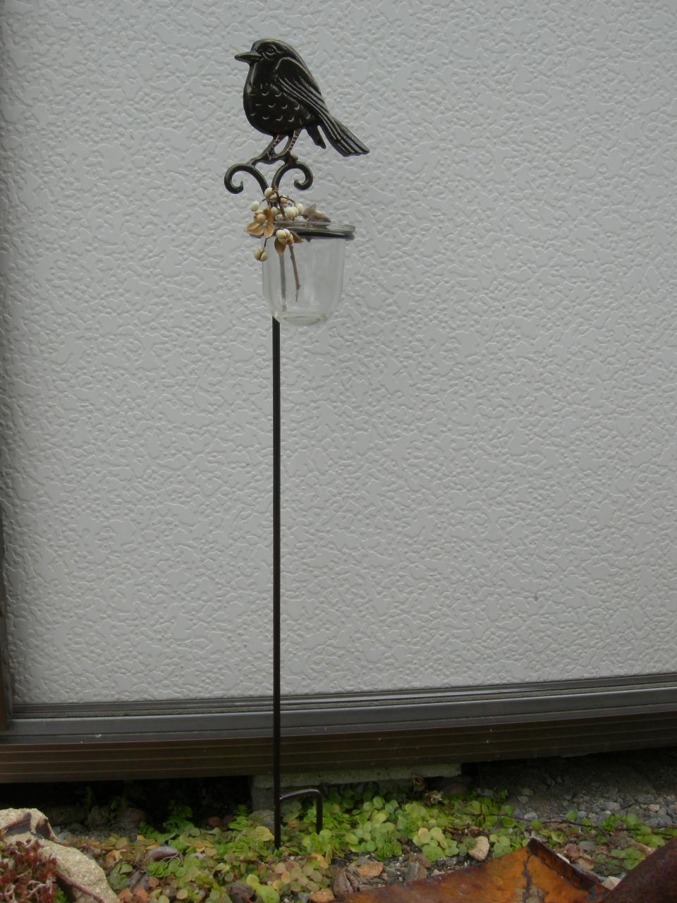 Bird ガラススティック H/690 D/110 W/85 ::3351【バッグ・小物・ブランド雑貨】記念日向けギフトの通販サイト「バースデープレス」