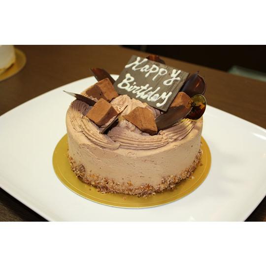 【有名パティシエが創る人気チョコレートケーキをお取り寄せ!】チョコレートケーキ 6号サイズ::3391【食品】記念日向けギフトの通販サイト「バースデープレス」