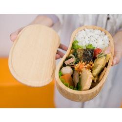 【一段木製お弁当箱】そらまめ型の木製お弁当箱 ::3396【バッグ・小物・ブランド雑貨】記念日向けギフトの通販サイト「バースデープレス」