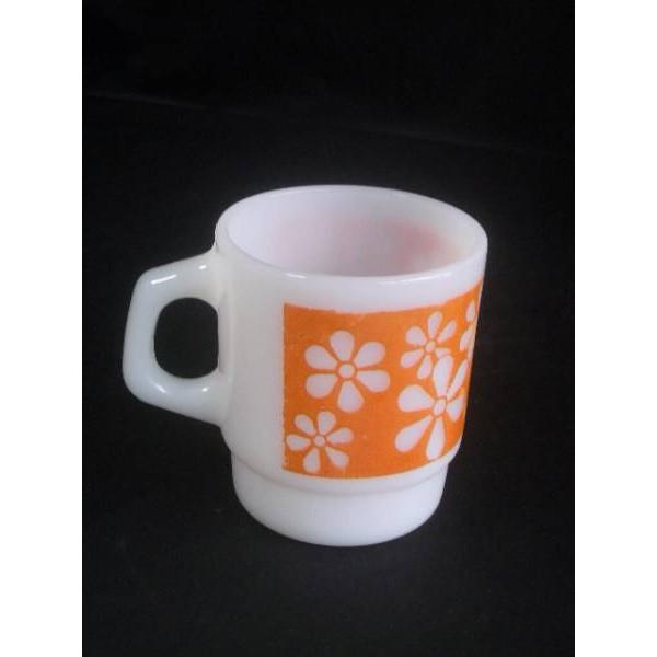 送料無料!ファイヤーキング マグカップ リズミックフラワーオレンジ::3421【バッグ・小物・ブランド雑貨】記念日向けギフトの通販サイト「バースデープレス」