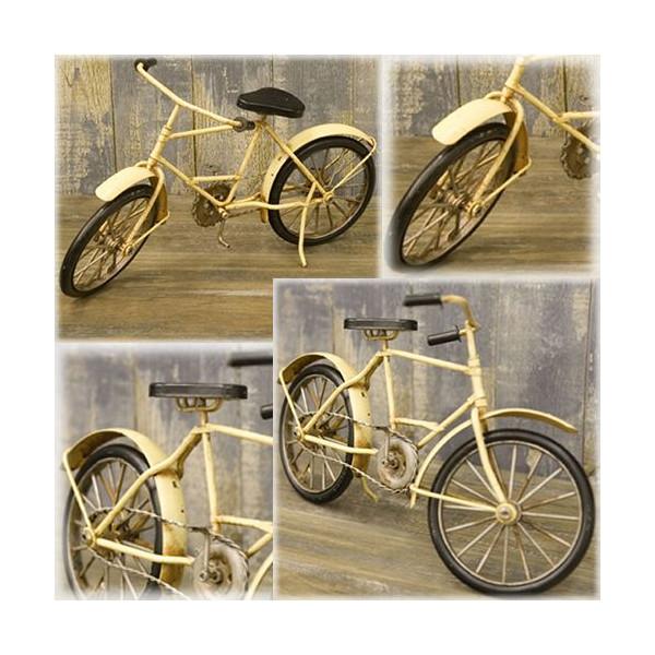 送料無料!ブリキ製ミニチュアクラシック自転車 バイシクル おもちゃ