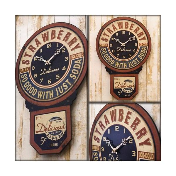 送料無料!壁掛け時計 インテリアウォールクロック アンティークCAFE::3421【バッグ・小物・ブランド雑貨】記念日向けギフトの通販サイト「バースデープレス」