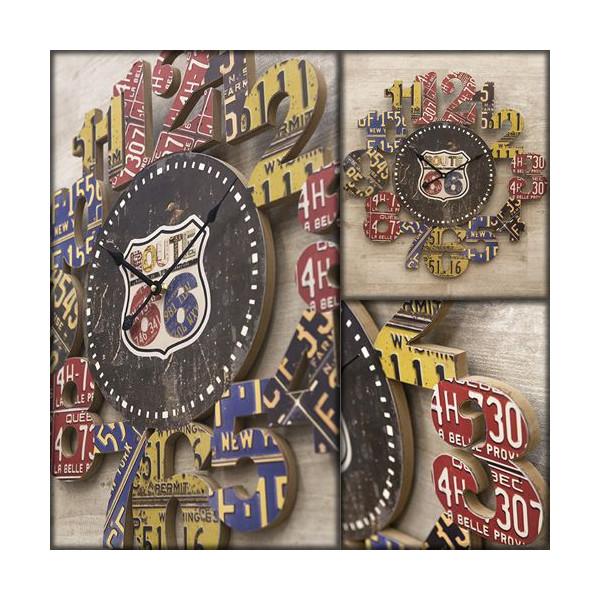 送料無料!壁掛け時計 インテリアウォールクロック アンティーク ナンバー::3421【バッグ・小物・ブランド雑貨】記念日向けギフトの通販サイト「バースデープレス」