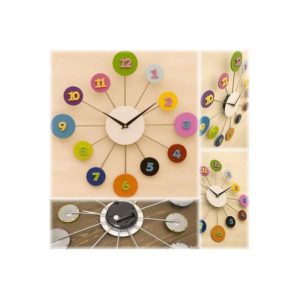 送料無料!壁掛け時計 モダンデザインインテリアウォールクロック::3421【バッグ・小物・ブランド雑貨】記念日向けギフトの通販サイト「バースデープレス」