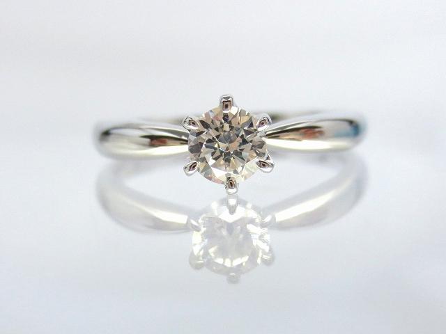 婚約指輪 エンゲージリング PT900 0.3ct E-VVS2-EX::3436【ジュエリー・アクセサリー > ブライダルジュエリー > 婚約指輪(エンゲージリング)】記念日向けギフトの通販サイト「バースデープレス」