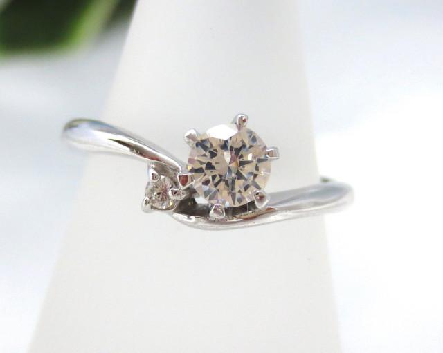 婚約指輪 エンゲージリング PT900 0.3ct F-VS1-EX::3436【ジュエリー・アクセサリー > ブライダルジュエリー > 婚約指輪(エンゲージリング)】記念日向けギフトの通販サイト「バースデープレス」