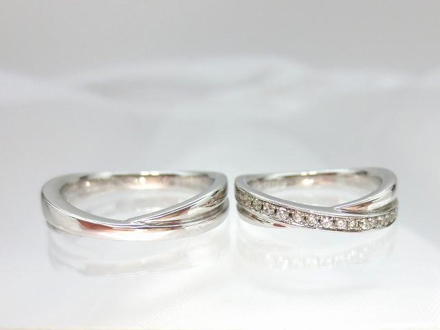 結婚指輪 プラチナマリッジリングペア ::3436【ジュエリー・アクセサリー > ブライダルジュエリー > 結婚指輪(マリッジリング)】記念日向けギフトの通販サイト「バースデープレス」