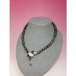 ヒチ産黒真珠ネックレス::3438【バッグ・小物・ブランド雑貨】記念日向けギフトの通販サイト「バースデープレス」