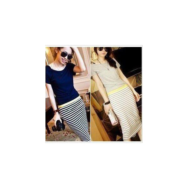 カジュアルスタイル☆ ボーダー柄♪ カジュアル ロング スカート☆ 2014 新作 春夏 セール ドレス パーティー::3528【レディースファッション】記念日向けギフトの通販サイト「バースデープレス」