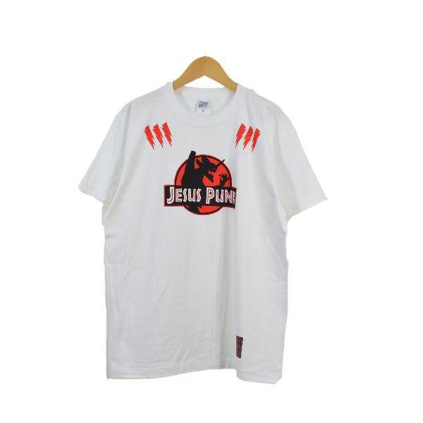 JESUS PUNK WHITE Tシャツ PPP0031::3548【バッグ・小物・ブランド雑貨】記念日向けギフトの通販サイト「バースデープレス」