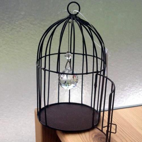 サンキャッチャー アンティーク 鳥かご バードゲージ::3587【バッグ・小物・ブランド雑貨】記念日向けギフトの通販サイト「バースデープレス」