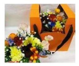 窓付きBOXアレンジ::3644【花・ガーデン・DIY > フラワー】記念日向けギフトの通販サイト「バースデープレス」
