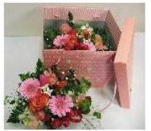ふた付きBOXアレンジ::3644【花・ガーデン・DIY > フラワー】記念日向けギフトの通販サイト「バースデープレス」
