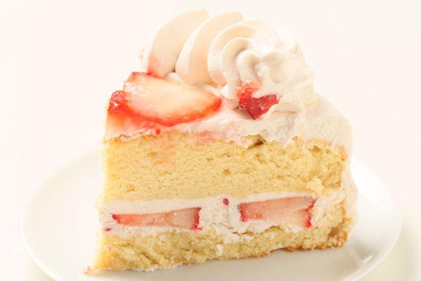 ストロベリー(小麦粉抜き)6号【アレルギー対応 誕生日 アレルギー  デコ バースデー ケーキ バースデーケーキ】の画像4枚目