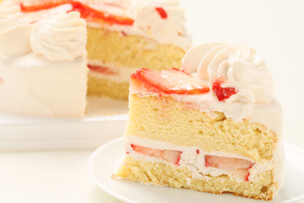 ストロベリー(小麦粉抜き)6号【アレルギー対応 誕生日 アレルギー  デコ バースデー ケーキ バースデーケーキ】の画像5枚目