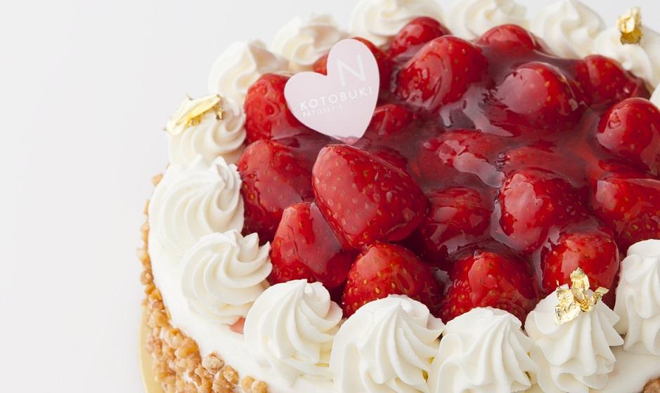 人気No.1!やっぱり定番苺のデコレーションケーキが好き♪
