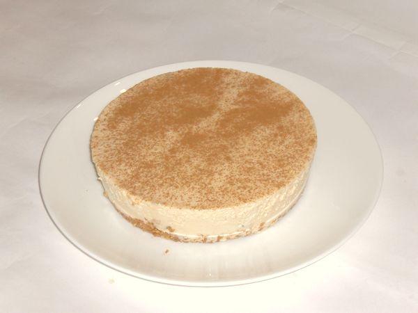 アップル・シナモン・キャラメル・レアチーズケーキ4号(12cm)【バースデーケーキ 誕生日ケーキ デコ バースデー】の画像1枚目