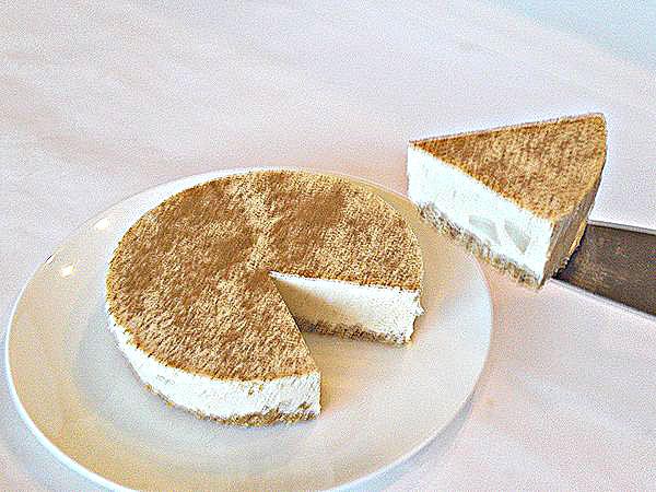 アップル・シナモン・キャラメル・レアチーズケーキ4号(12cm)【バースデーケーキ 誕生日ケーキ デコ バースデー】の画像2枚目