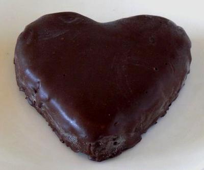 ハートの生チョコレアチーズケーキ 10cm
