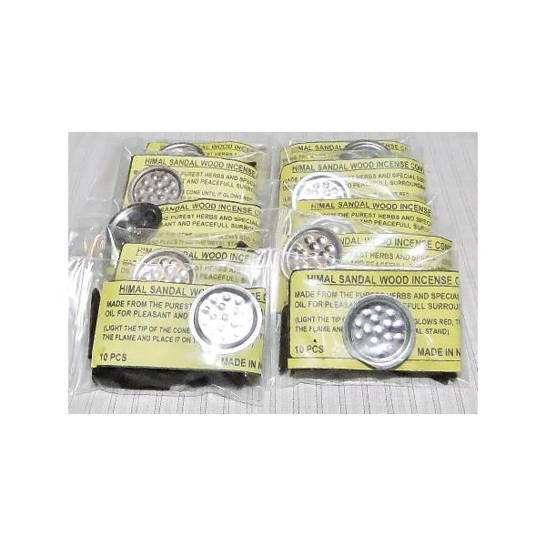 白檀三角香 10袋 芳香剤::416【バッグ・小物・ブランド雑貨】記念日向けギフトの通販サイト「バースデープレス」