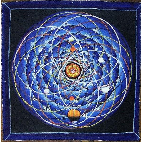 スペース(宇宙)曼荼羅Mn1401 手描き::416【バッグ・小物・ブランド雑貨】記念日向けギフトの通販サイト「バースデープレス」
