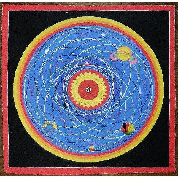 スペース(宇宙)曼荼羅Mn1402 手描き::416【バッグ・小物・ブランド雑貨】記念日向けギフトの通販サイト「バースデープレス」