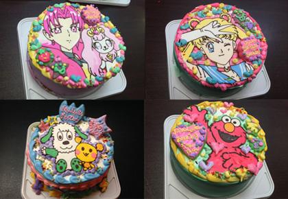 大好きなキャラクターの誕生日ケーキを宅配でお取り寄せ♪
