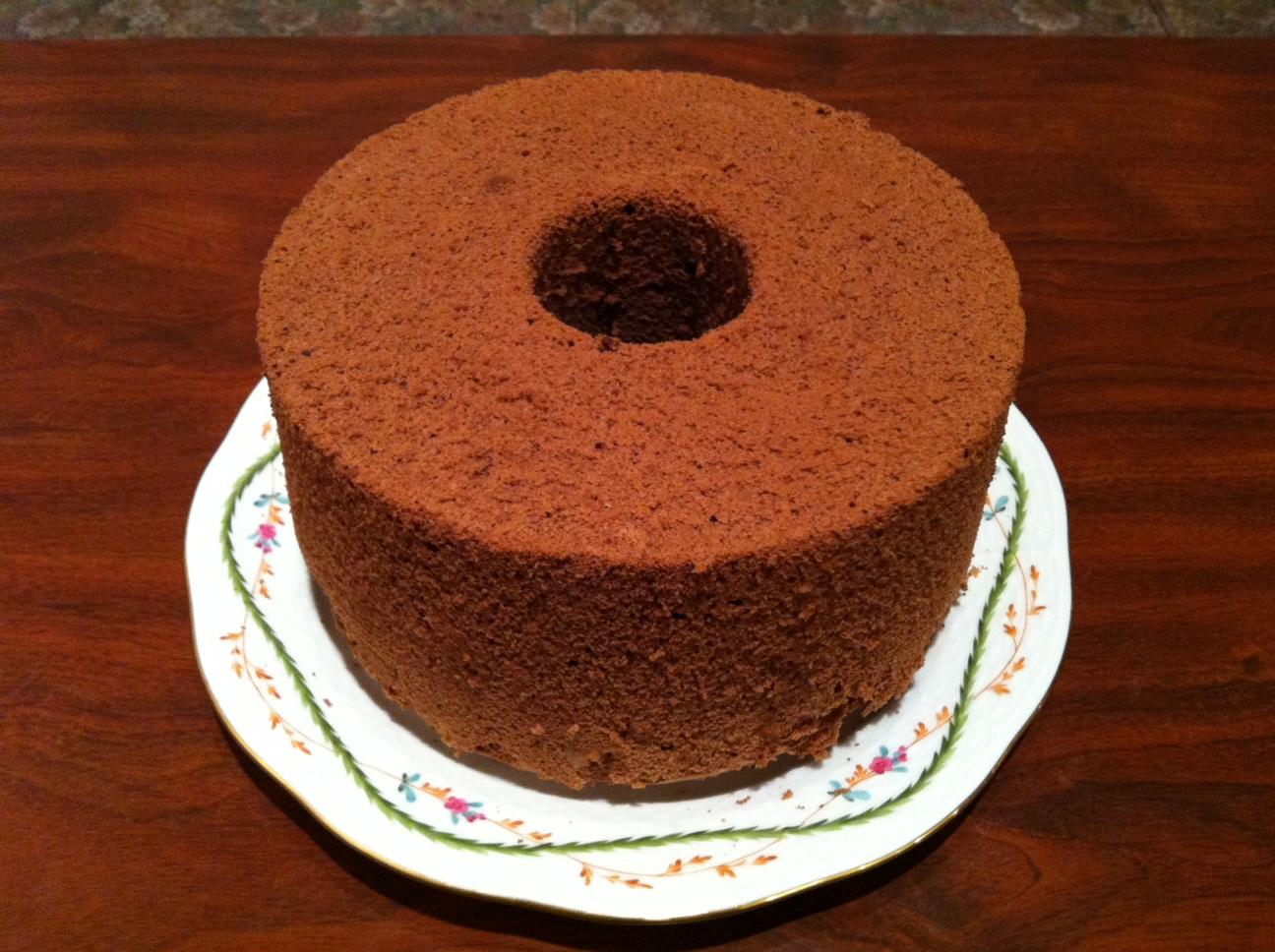 無添加 手作りシフォンケーキ [北海道産てんさい糖使用]【ココア】の画像1枚目