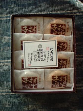 明治神宮献上銘菓 子持最中 8個入