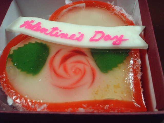 創作 和菓子のバレンタイン