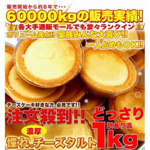 (新) リニューアル 〔訳あり〕濃厚チーズタルトどっさり2kg ≪常温商品≫