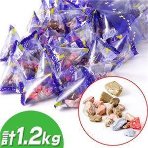 人気チョコ月の小石 計1.2kg〔400g×3袋〕