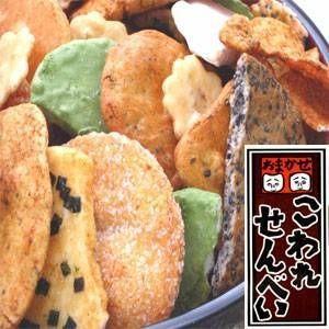〔訳あり〕草加・おまかせ割れせんべい(煎餅) 1000g缶