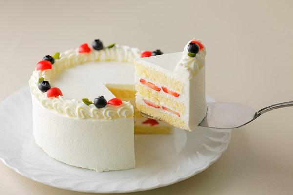 写真ケーキ小パーティ用 8号 24cmの画像2枚目