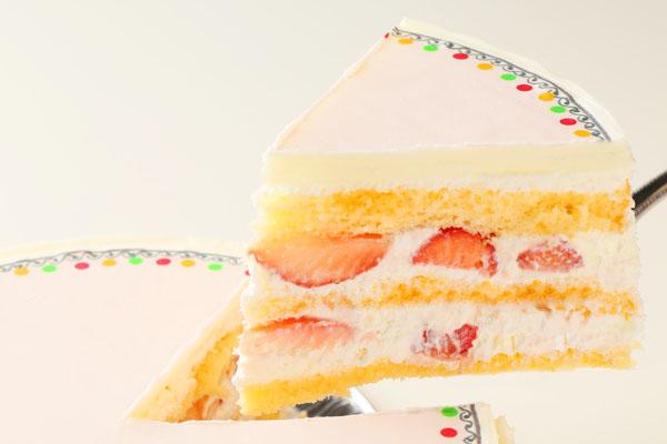 冷蔵配送の写真ケーキ 5号の画像3枚目