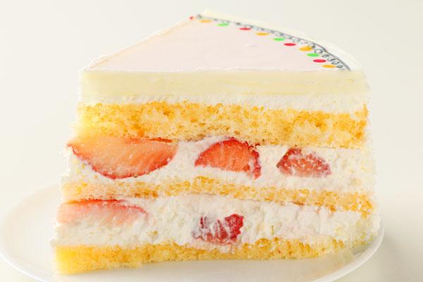 冷蔵配送の写真ケーキ 5号の画像4枚目