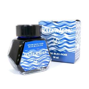 ウォーターマン WATERMAN 万年筆用 ボトルインク ブルーブラック