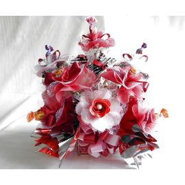 スイーツフラワー(赤)【誕生日 贈り物 プレゼント お祝い ギフト 花 フラワー】