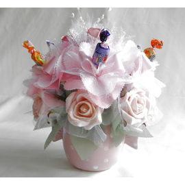バラとスイーツフラワーA【誕生日 贈り物 プレゼント お祝い ギフト 花 フラワー】