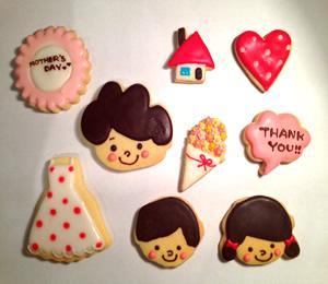 母の日アイシングクッキーセット::568【スイーツ > 洋菓子 > その他ケーキ】記念日向けギフトの通販サイト「バースデープレス」