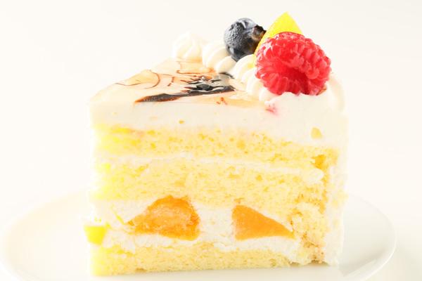 イラスト生クリームデコレーションケーキ 5号 15cmの画像7枚目