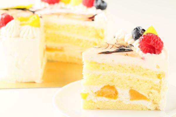 イラスト生クリームデコレーションケーキ 5号 15cmの画像8枚目